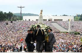 pilgrimage to fatima our of fatima pilgrimage christian faith devotee crowd