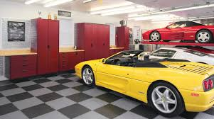 Garage Interior Design by Exterior Cool Storage Plan For Garage Design With High Wooden