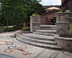 Large Pavers For Patio Concrete Pavers 15 Creative Paver Design Ideas Tips Install
