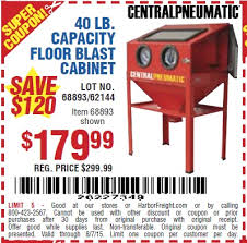 Used Blast Cabinet Harbor Freight Tools Coupon Database Free Coupons 25 Percent