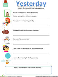 bunch ideas of tenses printable worksheets with additional