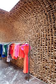 cool and unique owen store interior use 25000 brown paper bags