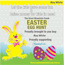 join us at the great mountain creek easter egg hunt news ray