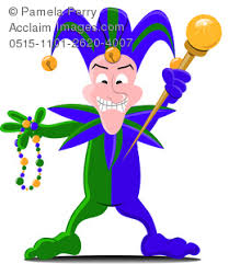 mardi gras jesters clip image of a mardi gras jester holding and a