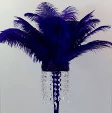purple feather fabulous purple feather diy centerpiece in 5 easy steps