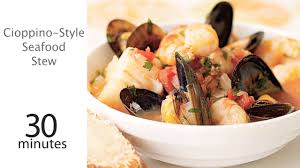 seafood thanksgiving recipes cioppino style seafood stew recipe myrecipes