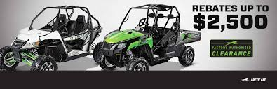arctic cat factory authorized clearance on side by sides chesty1