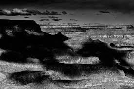 grand canyon painted light u0026 shade grand canyon black and white
