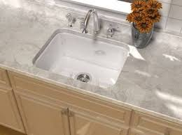 Cast Iron Kitchen Sinks by Cast Iron Kitchen Sinks With Black Slate Countertop Beautiful