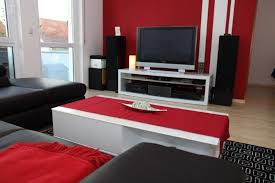 wandgestaltung rot beautiful wandgestaltung wohnzimmer rot pictures unintendedfarms