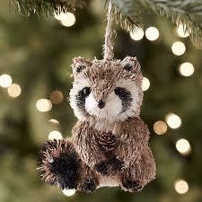 pier 1 raccoon ornament holidays raccoons