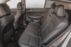 jeep wrangler backseat 2017 kia sportage ex rear seat motor trend