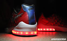 shoes that light up on the bottom nike evolved footwear custom light up shoes blog