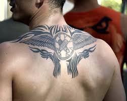 back shoulder free back shoulder tribal for