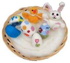 felted easter eggs felting classes in march the real wool shop