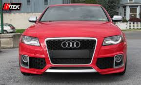 audi s4 front bumper kit styling audi s4 b8 sedan caractere performance