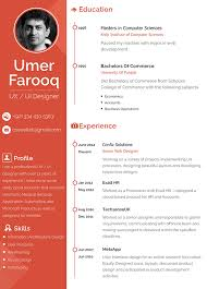 graphic design resume example google search designspiration