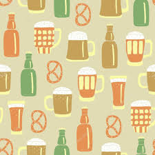 cartoon beer cartoon beer pattern u2014 stock vector texturis 34299007