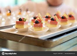 dessert canapes dessert canapes food stock photo tangducminh 134517024