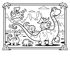dinosaur coloring page coloring pages kids