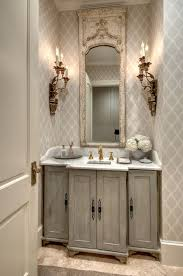 Bathroom Wallpaper Designs 330 Best Bathroom Images On Pinterest Home Antiqued Mirror And