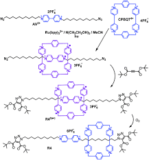 novel and efficient templates for assembly of rotaxanes and