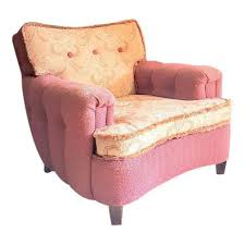 Chic Armchair Shabby Chic Pink Floral Upholstered Armchair Chairish