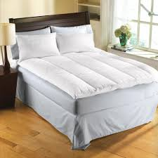 Best Feather Mattress Topper Reviews Homemade Mattress Topper Just Sew Old Pillows Together And Wrap