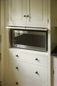 Hide Microwave In Cabinet Hidden Microwave Kitchen Traditional With North Shore Kitchen