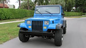 jeep blue 1989 jeep wrangler islander t54 kissimmee 2016