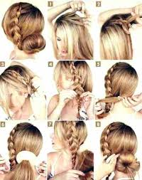 step by step hairstyles for long hair with bangs and curls unique easy hairstyles step by step for medium length hair easy