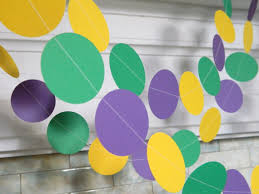 mardis gras decorations mardi gras decorations 10ft tuesday circle garland mardi