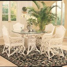 wicker kitchen furniture wicker rattan kitchen dining tables you ll wayfair