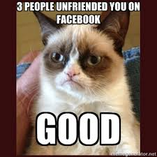 Create A Grumpy Cat Meme - tard the grumpy cat good unfriended you on facebook good
