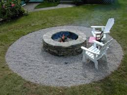 Stone Patio With Fire Pit How To Build A Fire Pit Diy Fire Pit How Tos Diy