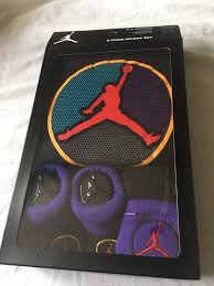 nike air jordan 3 piece gift set 0 6 mo baby shower bodysuit hat