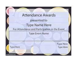 template for award certificates formal award certificate
