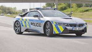 police car bmw i8 police car will make you stop and take notice