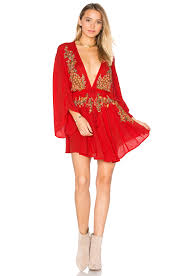 free people deco lace mini dress elfenbein kombi damen kleider w