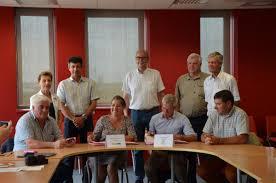 chambre d agriculture 14 signature de la convention cadre de stratégie partagée sur l