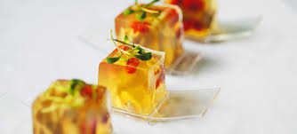 strikingly beautiful food in yellow color bon vivant food and