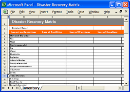 disaster recovery matrix excel disaster recovery matrix w u2026 flickr