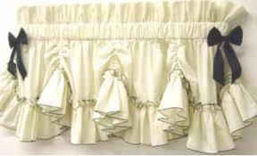 Ruffled Kitchen Curtains by Carolina Pearl Edge Country Style Curtains Ruffled Curtains