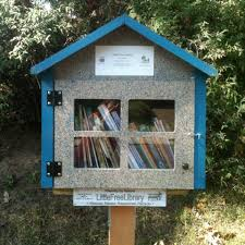 sewing little free library