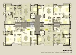 Floor Plan Of by Apartment Floor Plan Interior Design Ideas Luxury Apartment Floor