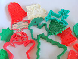 25 child friendly plastic christmas cookie cutter lot a used