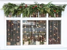 christmas window decorations christmas window decorations christmas garlands christmas