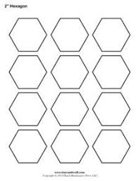 pentagon template free printable for english paper piecing top