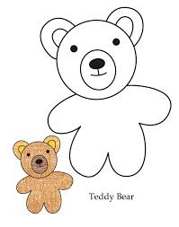 excellent teddy bear coloring sheets teddy bear coloring