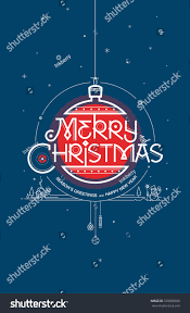 merry seasons greetings happy new stock vector 529030786